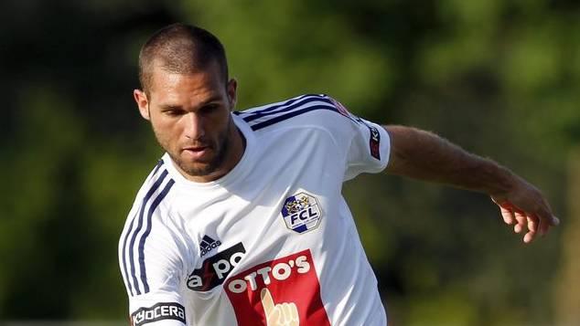 Daniel Fanger im Einsatz für den FC Luzern