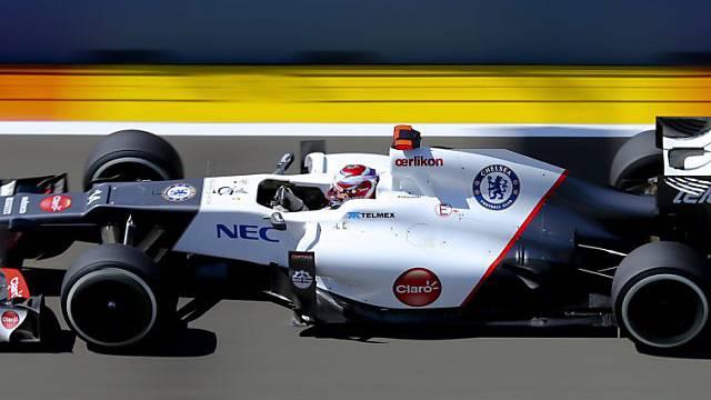 Kamui Kobayashi im Sauber auf Startplatz 7