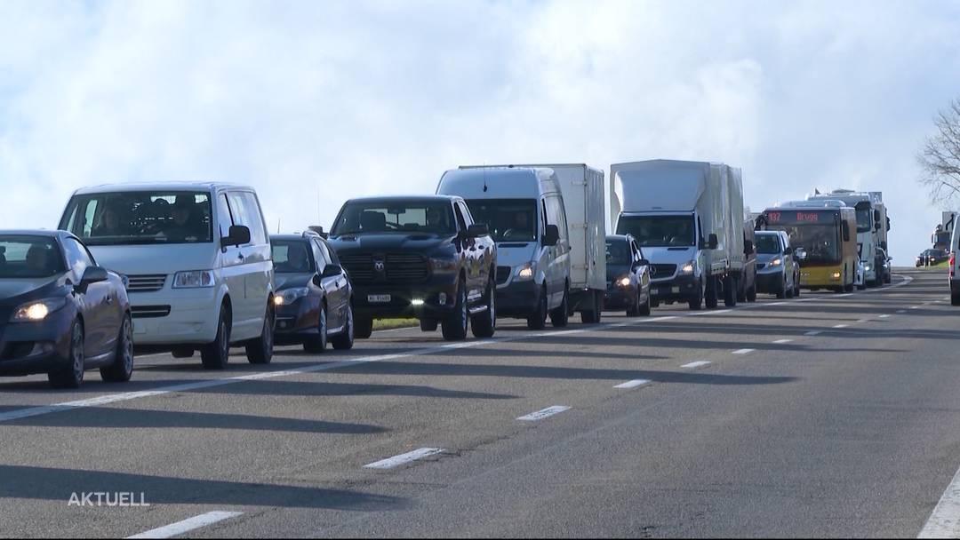 Verkehrschaos nach Unfall auf A3