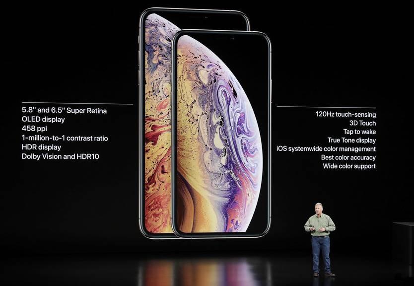 So sieht das iPhone XS aus. (Bild: keystone)