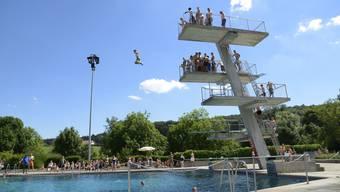 Am 12. Mai eröffnet das Freibad in Solothurn die Badesaison.