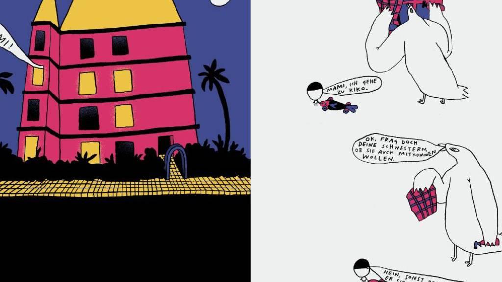 Nando von Arbs «Drei Väter» gehört zu den neu erschienenen Graphic Novels in der Schweiz.