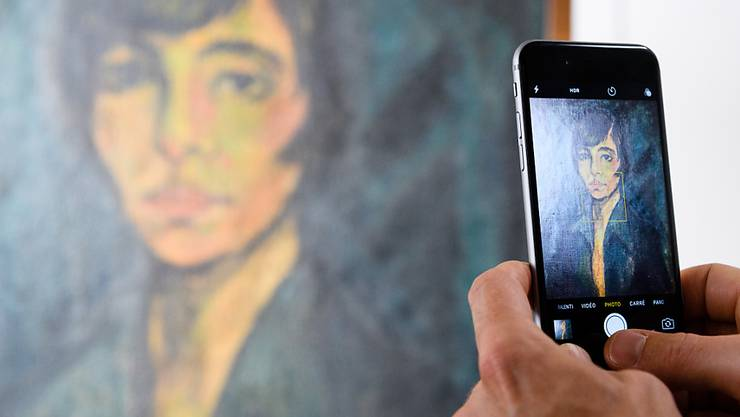 """Die ersten Bilder aus der Gurlitt-Sammlung werden im Kunstmuseum Bern bald zu sehen sein - hier beispielsweise das Gemälde """"Maschka"""" von Otto Müller. (Archivbild)"""