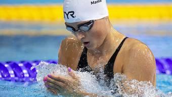 Lisa Mamié verbesserte den eigenen Schweizer Rekord über 100 m Brust