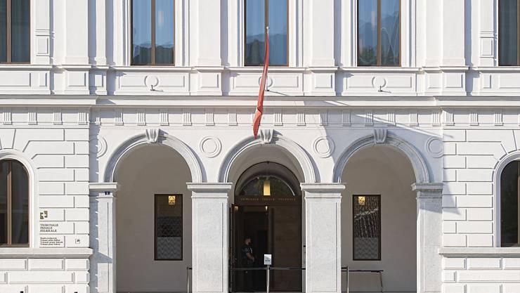 Am Bundesstrafgericht in Bellinzona hat am Donnerstag der erste Kriegsverbrecher-Prozess begonnen. (Archivbild)