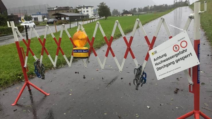 Regenwetter ist in Leimbach ein Problem, weil das Abwasser direkt in den Dorfbach läuft. Symbolbild.
