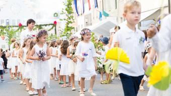 Rutenzug und Morgenfeier Jugendfest Brugg