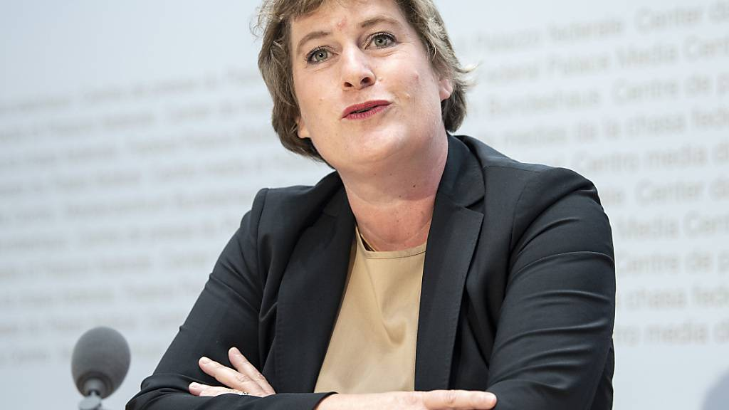 Sabine D'Amelio-Favez, Direktorin der Eidgenössischen Finanzverwaltung, sieht die Schweizer Wirtschaft in guter Verfassung. Ein Konjunkturpaket hält sie für unnötig. (Archivbild)