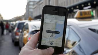 Proteste Uber Taxi