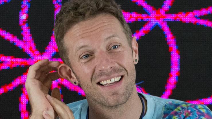 """Chris Martin, Coldplay-Frontmann und Schirmherr des  """"Global Citizen Festival""""-Konzerts, will mit anderen Künstlerinnen und Künstlern ein Zeichen gegen Armut und für mehr Gleichheit setzen. (Archivbild)"""