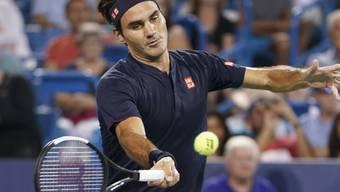Roger Federer kämpft in Cincinnati im Final gegen Novak Djokovic um seinen 99. Titel der Karriere