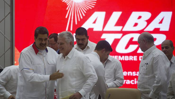 Beim Gipfeltreffen linksgerichteter Staaten in Kuba haben sich die Teilnehmer gegenseitige Unterstützung im Kampf gegen den wirtschaftlichen Druck der USA zugesichert.