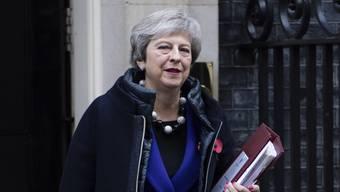 Fortschritte bei den Brexit-Verhandlungen mit der EU: die britische Premierministerin Theresa May. (Archivbild)