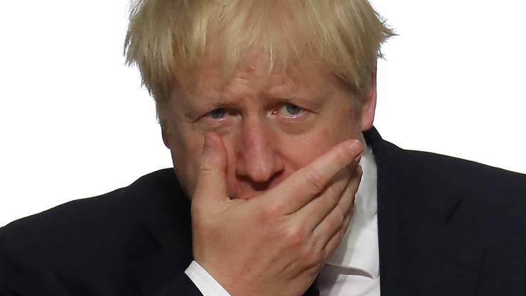Für ihn könnte es im Parlament noch eng werden: der britische Premier Boris Johnson.