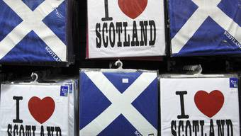 Aus der Sicht der schottischen Regionalregierung lässt sich die Liebe zu Schottland nicht länger mit einem Verbleib in Grossbritannien vereinbaren (Symbolbild)
