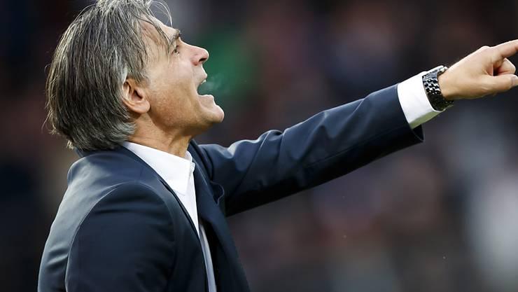 Maurizio Jacobacci kennt den Weg, den der FC Sion gehen muss