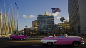 Die US-Botschaft in Havanna.