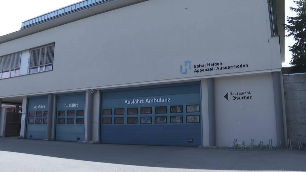 Spitalschliessung Heiden: Notfallstation beschränkt geöffnet