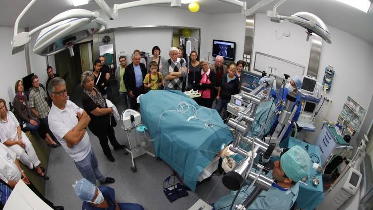 Einmal operieren bitte: Tag der offenen Tür im Bürgerspital Solothurn