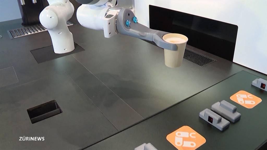 Erste Roboterbar öffnet in Zürich Oerlikon
