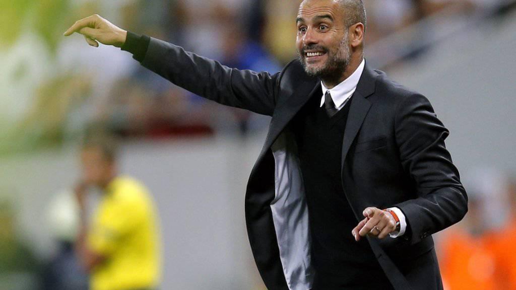 Pep Guardiola führt Manchester City in Stoke zu einem klaren Sieg