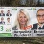 Wahlplakate der SVP Baselland wurden in Pratteln beschädigt