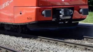 Der Mann stürzte, als die Üetlibergbahn sich in Bewegung setzte. (Archivbild)