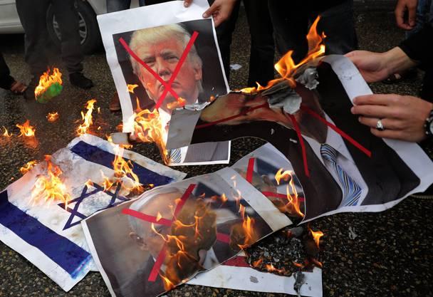 Reaktionen in Gaza un der Hamas auf Trump und die Anerkennung von Jerusalem als Hauptstadt von Israel.
