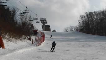 Griffiger Schnee, leere Pisten – so macht Skifahren Spass.