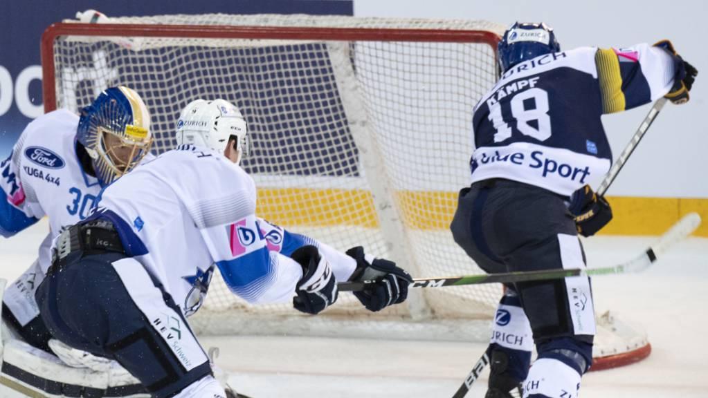 EVZ gegen SC Langenthal (Swiss Hockey Cup)