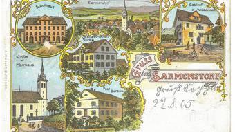 Postkartengrüsse aus dem Freiamt