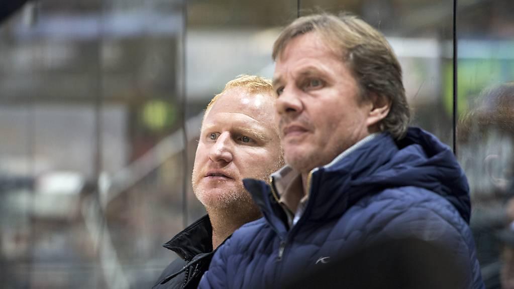 Heiko Vogel (links) ist nicht mehr Trainer beim KFC Uerdingen