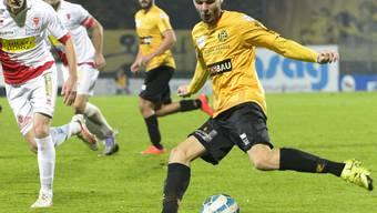Schaffhausens Haxhi Neziraj erzielte die 1:0-Führung schon nach fünf Minuten