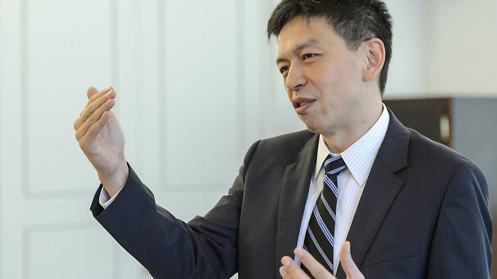SGS-CEO Frankie Ng kann sich über allmählich erholende Geschäfte freuen. (Archivbild)