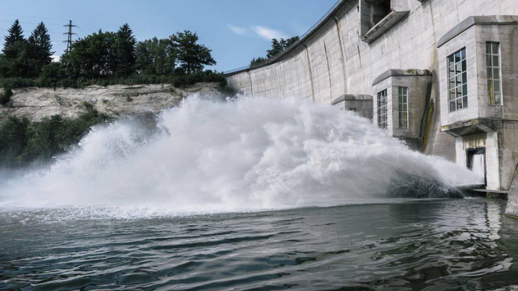 Die Strombranche hat derzeit mit einem schwierigen Marktumfeld und niedrigen Strompreisen zu kämpfen. Im Bild das Wasserkraftwerk Schiffenen in Kleinbösingen FR. (Archiv)