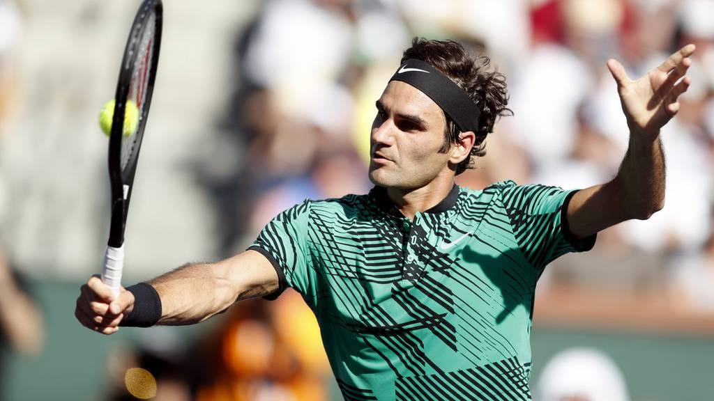 ZFF: Roger Federer unterbricht Marco Rima