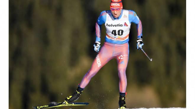 Unter Dopingverdacht, in Davos aber trotzdem am Start: Der Russe Alexander Legkow. Foto: Keystone