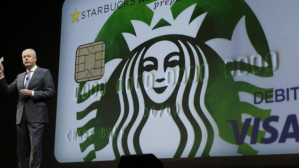 Wachstum bei Starbucks verlangsamt: Die Kaffeehaus-Kette verdiente im vergangenen Quartal 754 Millionen Dollar. (Archivbild)