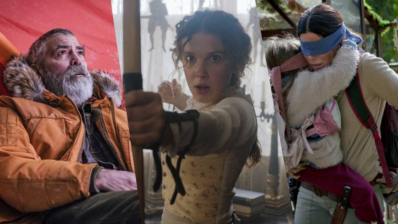 In den grössten Netflix-Hits spielen internationale Stars wie George Clooney, Millie Bobby Brown und Sandra Bullock mit.