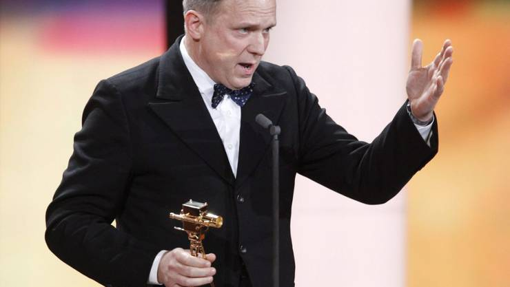 Hasst laute Telefongespräche im Zug: der deutsche Schauspieler Ulrich Tukur (in einer Aufnahme von der Verleihung der 46. Goldenen Kamera in Berlin im Februar 2011).
