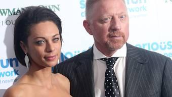Ein Bild aus glücklichen Tagen: Boris und Lilly Becker. Seit Mitte 2019 sind die beiden geschieden, wie nun bekannt wurde. (Archiv)