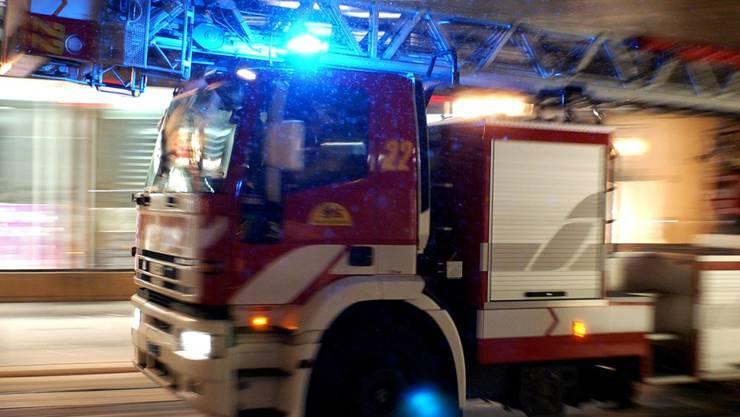 In Pfeffingen brannte eine Küche. Die Feuerwehr konnte den Brand rasch löschen.