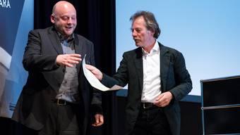 Übergabe des Solothurner Literaturpreises 2015 an Thomas Hettche