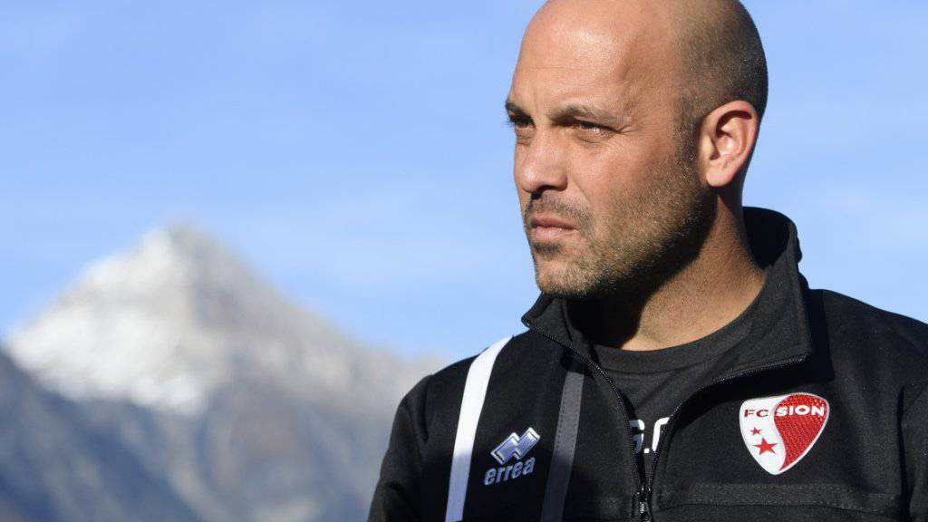 Gabri von Spanien in die Walliser Alpen: Sions neuer Trainer steht im Match gegen den FCZ auf dem Prüfstand.