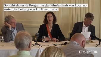 """Mit Lili Hinstin steht zum zweiten Mal eine Frau an der Spitze des traditionsreichen Filmfestivals in Locarno. Am Mittwoch präsentierte die Französin in Bern das Programm ihrer ersten Ausgabe (7.-17.8.). Mit dabei: neue Schweizer Filme und der jüngste Tarantino-Wurf. Marco Solari betont, dass das Programm von Lili Hinstin vor allem auch die jüngere Generation ansprechen soll. """"Sie hat einige recht mutige Filme ausgewählt"""", sagt der Präsident des Filmfestivals von Locarno."""