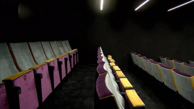 Kino Houdini nach Brand wiedereröffnet