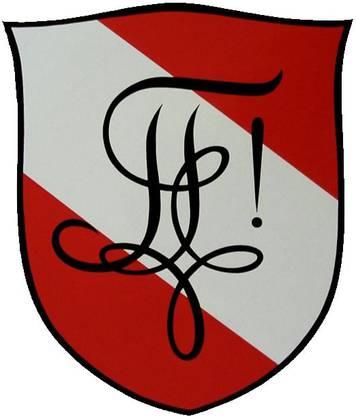 Das Wappen der Zofingia. Den Schriftzug nennt man den «Zirkel». Bild: zvg