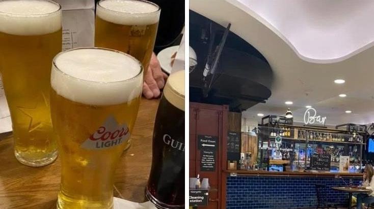 Flugtickets gekauft, nur für ein Bier mit den Kollegen