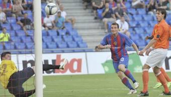 Alex Frei war mit zwei Toren der FCB-Matchwinner