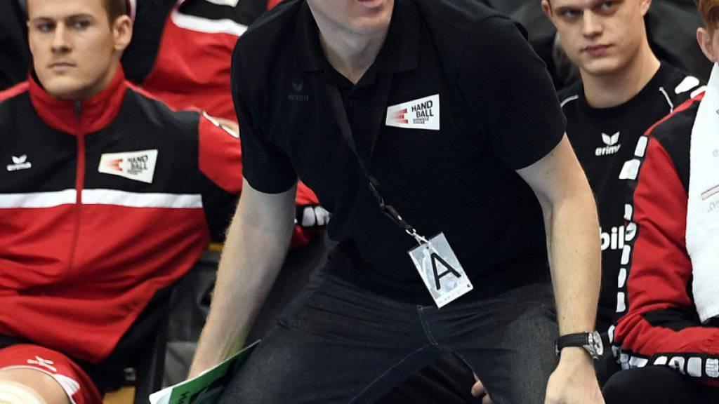 Nationalcoach Michael Suter muss in den beiden Testspielen in Wien auf zahlreiche Stammkräfte verzichten